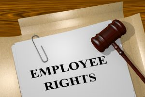 employee rights legal documents on an employment law attorney chillicothe desk