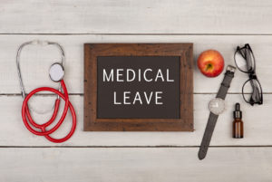Medical leave concept representing how our Columbus medical leave lawyers can assist you with FMLA violations