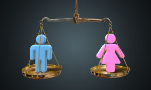 Men and women equality concept representing how our Columbus employment lawyers can help you with discrimination