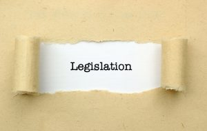 Legislation Typed onto white paper representing Columbus Coronavirus employee protection attorney.