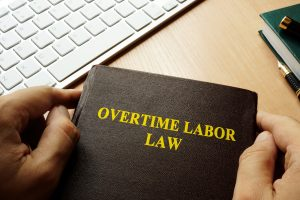 Book with title Overtime labor law, when you need good representation from a OH employment law attorney.